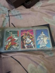 统一小浣熊水浒英雄传卡(一共83张,不重复,合售398元。)