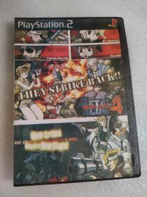 游戏光盘playstation2METAL SLUG3