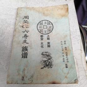 周荣旺六寿支族谱