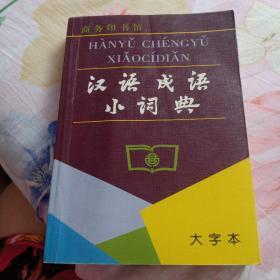 《汉语成语小词典》大字本