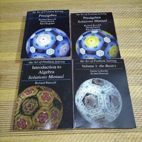 the Art of Problem Solving :Prealgebra,lntroductiontoAlgebra,ArtofProblemSolvingVolume1,Prealgebra(共4册合售),看图