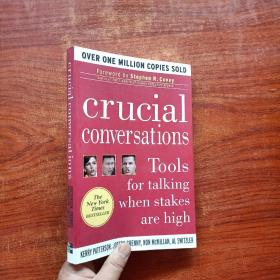 Crucial Conversations:Tools for Talking When Stakes Are High