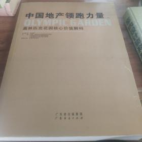 中国地产领跑力量(上册)