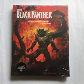Marvel's Black Panther: The Illustrated History of a King  漫威的黑豹:国王的图解历史  英文漫威漫画   精装未拆封  8开  大开本