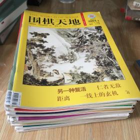围棋天地 杂志 半月刊 2004年1-20期 缺16期 共19本合售