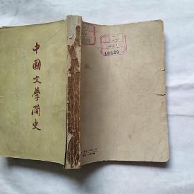 中国文学简史  上卷  馆藏内近未阅