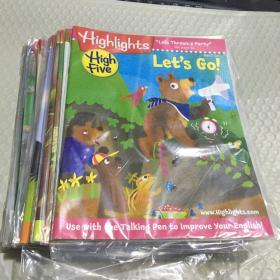 Highlights high five 儿童英语杂志共20本 2018年1.2.3.4.6.7.8.9.10.11.12月 9 2017年3.4.5.6..8.9.10.11.12月