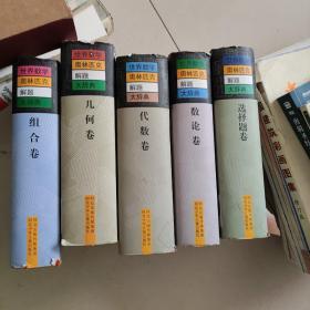 世界数学奥林匹克解题大辞典   五本合售