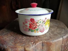 1994年的搪瓷快餐杯一个,开封搪瓷厂