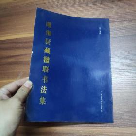 曜湘居藏楹联书法集-----16开95年一版一印