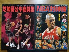 NBA芝加哥公牛写真集+NBA封神榜(2本合售)