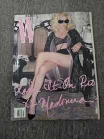 W Magazine March 2009 Madonna 借Vogue