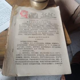 文革资料内部参政,第六期