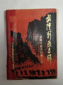 武隆剿匪专辑(武隆文史资料第五辑)