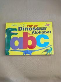 Robert Crowther's Pop-up Dinosaur Alphabet-立体书,罗伯特·克劳瑟的弹出恐龙字母表