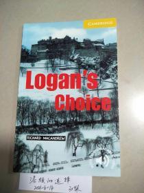 Logan's Choice (洛根的选择) 原版  库存