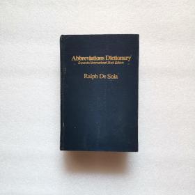 Abbreviations Dictionary (英语缩略语词典 国际第6增订版) 16开
