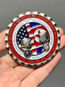 纪念币 特朗普