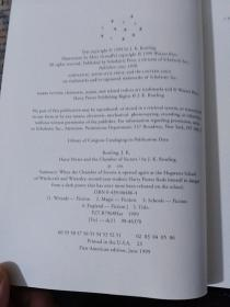 Harry Potter and the Prisoner of Azkaban(精装版)(2/3/4/6)4册合售