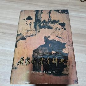 唐宋词鉴赏辞典(精装)