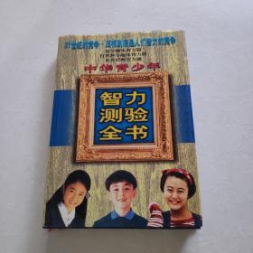 中华青少年智力测验全书  下  精装