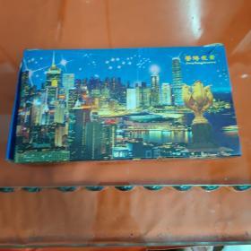 香港维多利亚港夜景(纪念钥匙扣)少一个