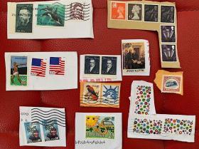 美国英国邮票