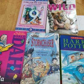 WILD Tiger Trouble/STORIES FOR NINE-YEAR-OLDS/HARRY POTTER/STORMCHASER/ROALD DAHL(5本合售)