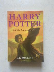 HARRY POTTER  and  TBE DEATBLY  HALLOWS  英文原版 哈利波特与死亡圣器
