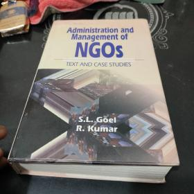 Administration AND Management OF NGOS〈精装巨厚册)