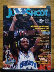 JUMP SHOOT 篮球杂志1997.vol.38 nba97全明星 詹姆斯沃西 蒂姆邓肯NCAA专题(无海报)