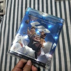 飞屋环游记dvd