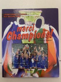 【法国足球原版】2000欧洲杯画册