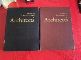 Macmillan Encyclopedia of Architects 麦克米伦建筑百科全书(第1册和第4册,外文原版)