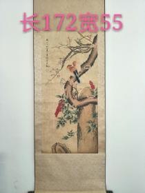 收到手绘花鸟画,画工精致,线条优美,品相如图