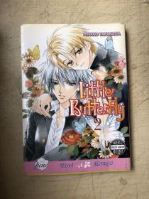 卡通漫画:Little Butterfly Volume 2 (Yaoi)(英文原版 漫画)