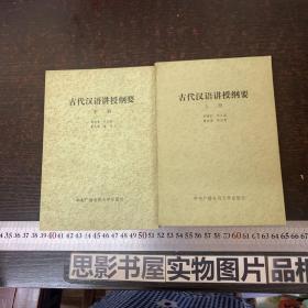 古代汉语讲授纲要(上下)