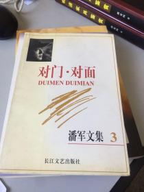 对门· 对面——潘军文集(3)