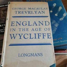 England in the Age of Wycliffe    m