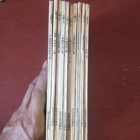 《七拳小子》全十册 日.鸟山明绘画 1993年1版1印 私藏 书品如图.