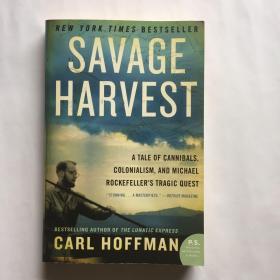 现货 英文原版 Savage Harvest 狂野收割 美国亚马逊2014年度畅销书