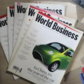 World Business  5册合售