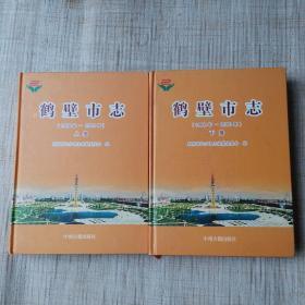 鹤壁市志(1986-2000)上下
