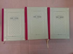 神曲(地狱篇、炼狱篇、天国篇)(精装网格本人文社外国文学名著丛书)共三册