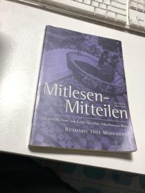 Mitlesen- Mitteilen
