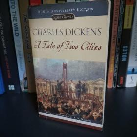 A Tale of Two Cities 双城记 Charles Dickens 狄更斯 英文正版