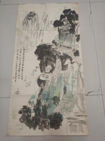 娄咏芬国画一幅
