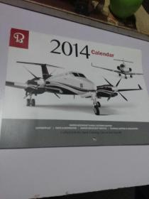 2014 Calendar 日历(飞机图片全14张)