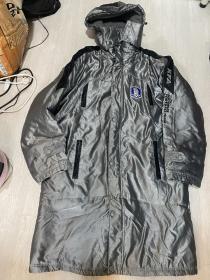 韩国国家足球队大衣 KFA 韩国国足 厚外套 尺码是XL 100 适合175-185的高个子 实物比图片好看