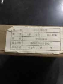 中国博物馆  吉林省博物馆   10品